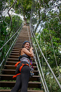 Canopy Tour at Finca Las Nubes