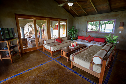 Living Room at Casa Buenavida, Finca Las Nubes