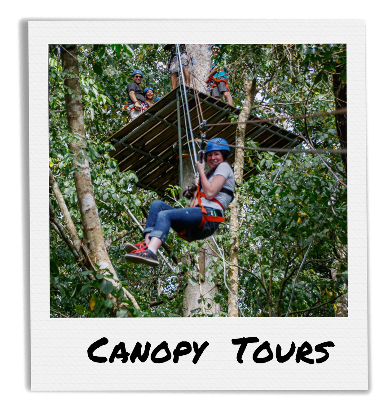 Zip Line Canopy Tour at Finca Las Nubes