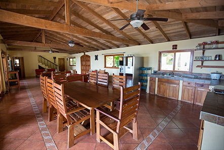 Casa Bella Kitchen and Family Room