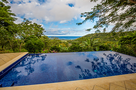 Ocean View Vacation Rental at Finca Las Nubes