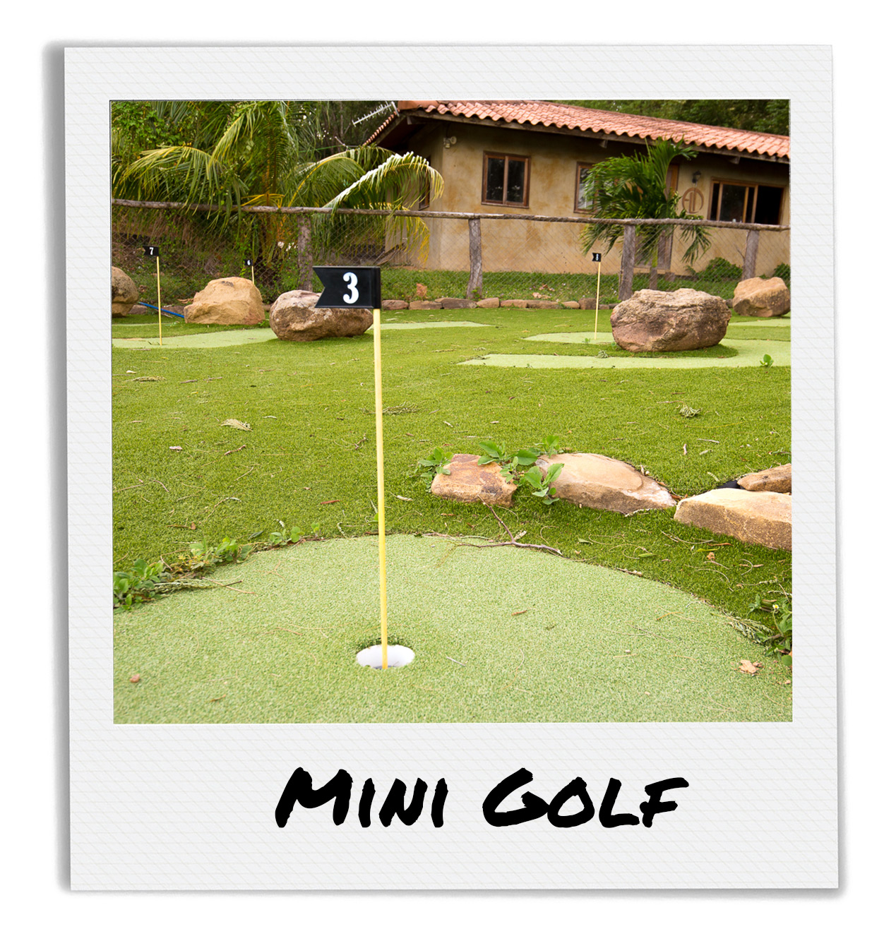 Mini Golfing at Finca Las Nubes San Juan Del Sur Nicaragua