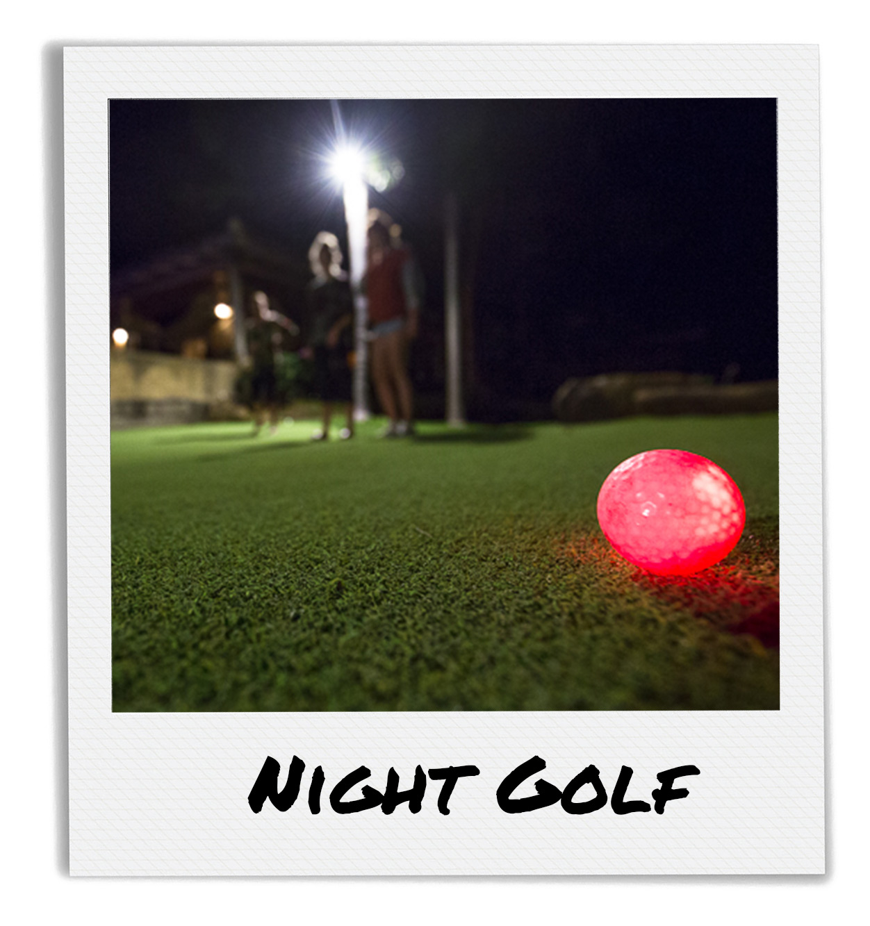 Night Golfing at Finca Las Nubes San Juan Del Sur Nicaragua